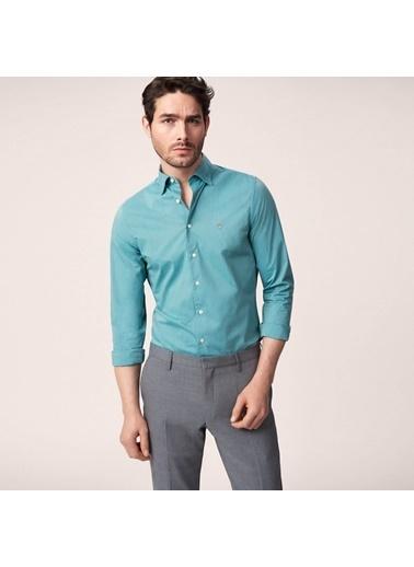 Gant Slim Gömlek Yeşil